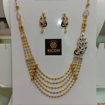 916 gold broch mala