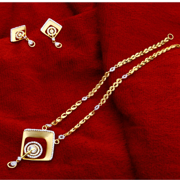 916  Gold Classic  Ladies  Chain Necklace CN149