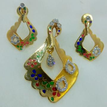 916 designer pendant set