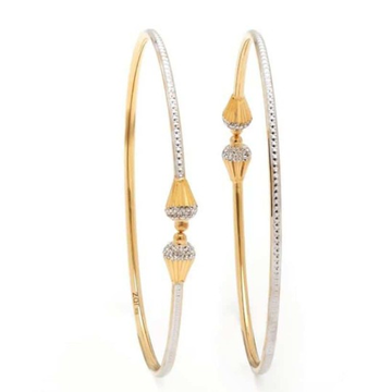 22KT Yellow Gold Dafne Rodiyam  Bangles For Women