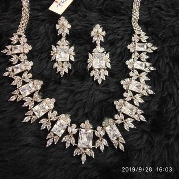 Diamond necklace#403
