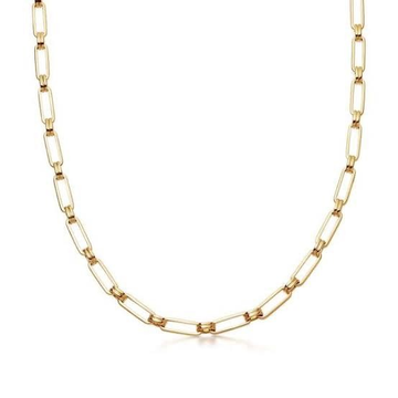 22kt, 916 hall-marked, yellow Gold unisex hollow design Chain Jkc011