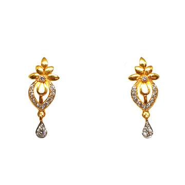 22K Gold Fancy Earrings MGA - BTG0183