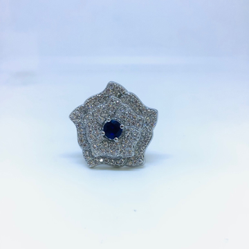 FANCY STERLING SILVER LADIES RING by