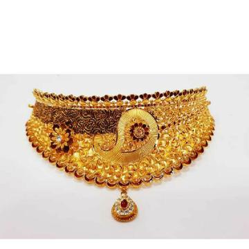 916 Gold Traditional Chokar Set