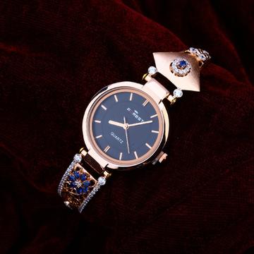 750 Cz Women's Designer Rose Gold Watch RLW202