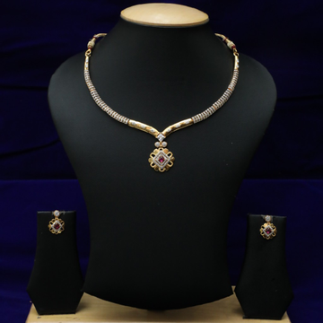 New Diamond Necklace Set 916 CZS0021