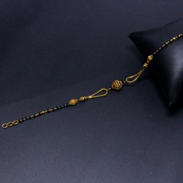 22K Hallmarked Fancy Mangalsutra Bracelet by Simandhar Jewellers