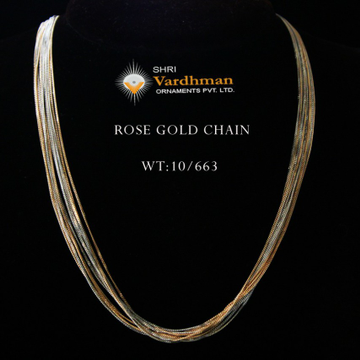 18ct delicet and exclusive chain by