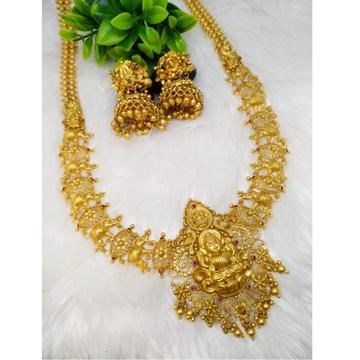 916 Gold Designer Temple Jewellery