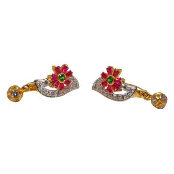 18K Gold Designer Earrings MGA - BLG0618