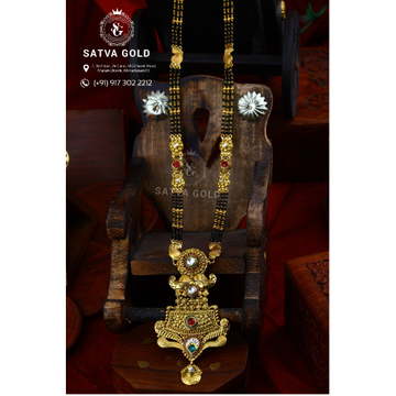 916 Gold Antique Mangalsutra AMG-018
