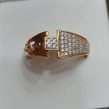 22kt gold cz attractive ring for men tbj-r02 by