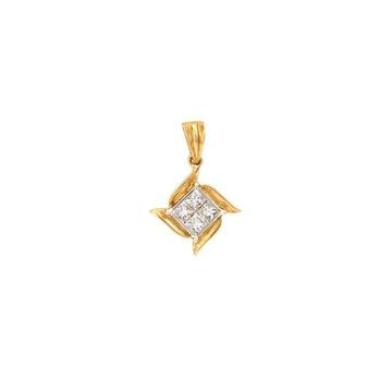 22kt, 916 hm, gold sathiya designed pendant JKP045
