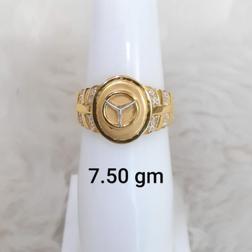 916 Fancy Mercedes gent's ring by