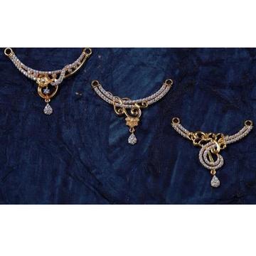 916 Gold Diamond MangalSutra Pendal RH-MSP03