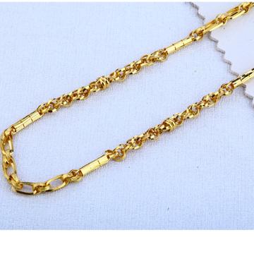 916 gold Designer  Choco Chain MCH127
