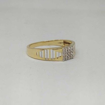 REAL DIAMOND BRANDED GENTS RING