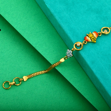 Kids Cartoon Gold 22K Bracelet-KB06