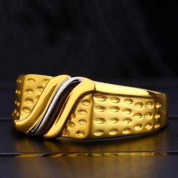 22 carat gold fancy gents rings RH-GR422