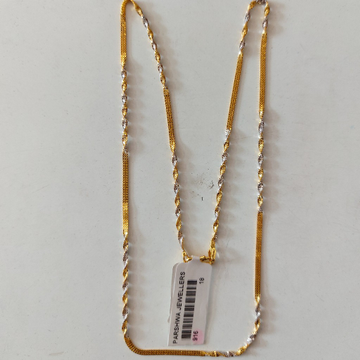 916 chain by Parshwa Jewellers