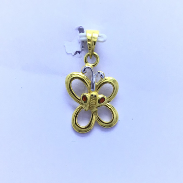 BUTTERFLY FANCY GOLD PENDANT by