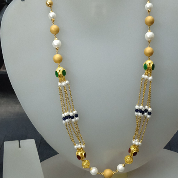 22 ct awesome fancy mala by Celebrity Jewels
