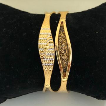 916 Gold Fancy Copper Kadli Bangles VN-B03