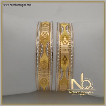 916 Gold Khilla Bangles NB-336