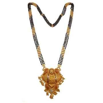 916 Gold Kalkatti Designer Mangalsutra MGA - GM029