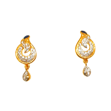 22K Gold Fancy Earrings MGA - BTG0147