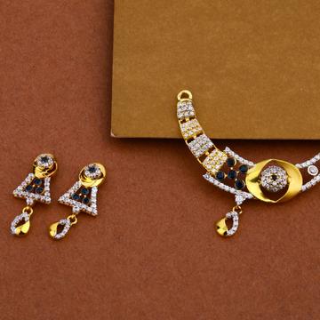 916 Gold Exclusive Cz Pendant MP29