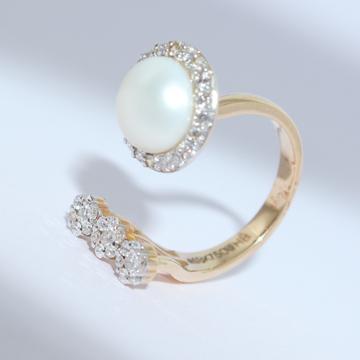 18k gold diamond ring agj-lr-235