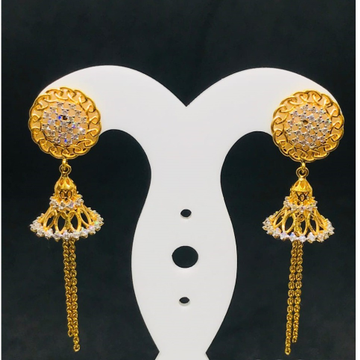 INTERWOVEN GOLD 18CARAT EARRING BT0041