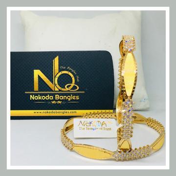 916 Gold CNC Bangles NB - 714