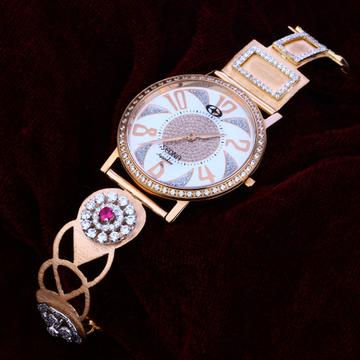 18kt Rose Gold Fancy  Hallmark  Watch RLW132