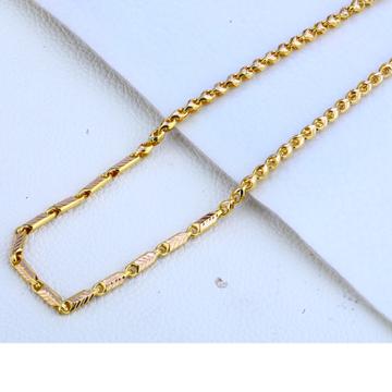 916 gold Hallmark  Fancy Choco Chain MCH162