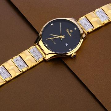 22 carat gold hallmark mens watch rh-ga484