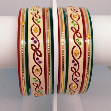22 KT 916 Fancy colourfull raschudi by Zaverat