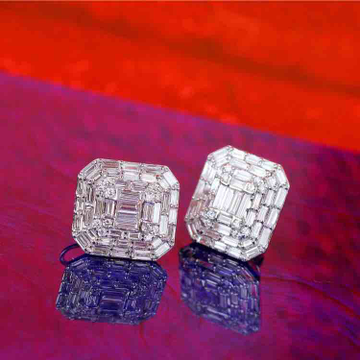 18KT Fancy Choki Diamond Earring