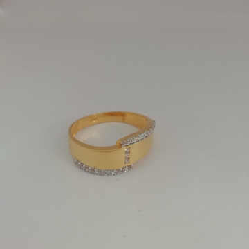 916 gold casting Gents ring by Vinayak Gold