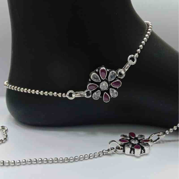 sterling silver Antique Payal
