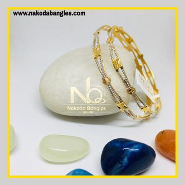 916 Gold CNC Bangles NB - 1280