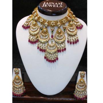 22kt gold bridal short antique set by