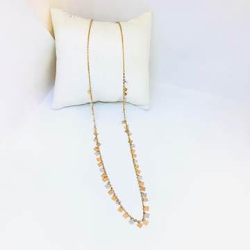 BRANDED FANCY ROSE GOLD CHAIN by