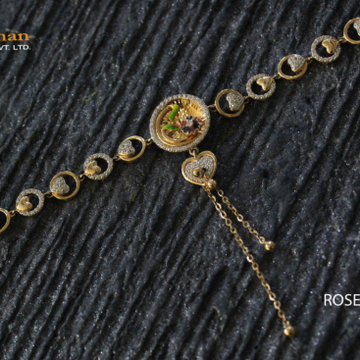 18kt adi ladies bracelet by