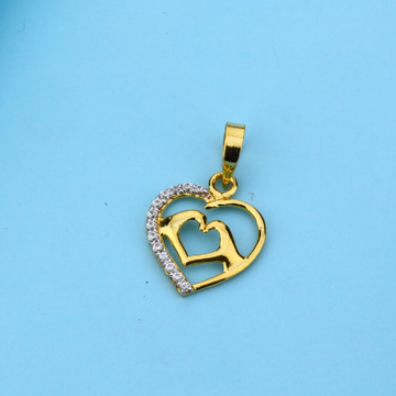 916 Gold Cz Hallmark Pendant LFP35