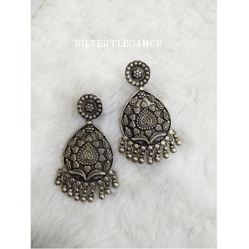 Silver fancy earring se-e005