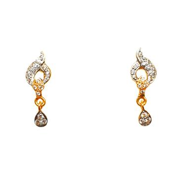22K Gold Fancy Earrings MGA - BTG0315