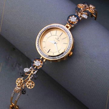 18KT Rose gold fancy special occasional watch for... by